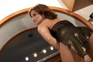 valentine rush lesbo sex with belt on fake penis