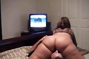 wifey see a cartoon... big beautiful woman