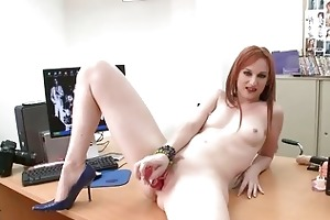 hawt redhead d like to fuck honey roughly drilled