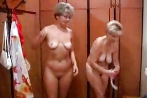 older russian sex in a bathhouse