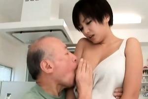 oriental mother i receives her scoops sucked part6