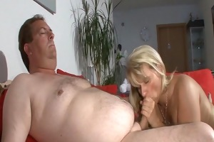sexy golden-haired makes me cum