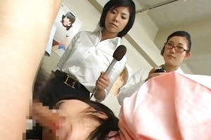 oriental wife is examining male workers 7 part5