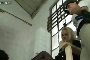 awesome fem slavemaster with wicked sweetheart