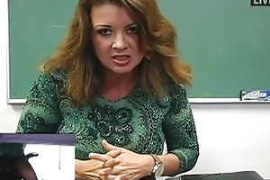 busty d like to fuck teacher masturbates in hawt