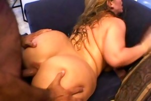 older blond big beautiful woman does anal then