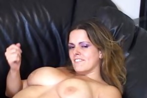 masturbation teacher flaunts her large bazookas