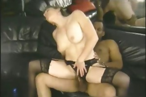 sexy mama riding and humping darksome weenie part1