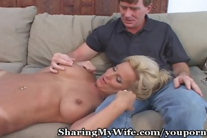 older vagina group-fucked in front of hubby
