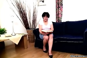 cute chicks met at the teacher\s place and in a
