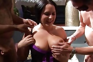 large fuckfest with tiny plump and aged