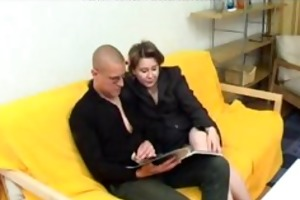 russian mamma acquires arse pumped russian