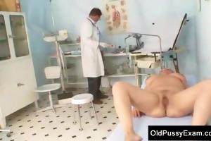 older plump radka gyno vagina speculum exam
