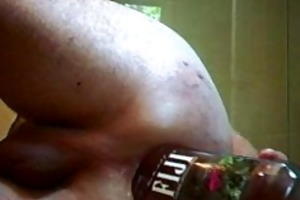 opening my arse for a giant chunky cock