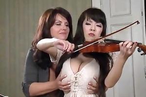 breasty music teacher
