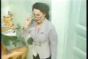 hot mother i in washroom