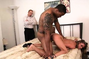 darksome weenie pounding white wife doggy style