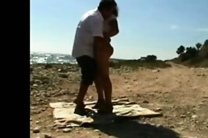 fucking my wife on the beach