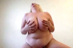 amatuer large tit fat wife copulates chap she is