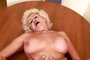 nasty granny acquires drilled in pov
