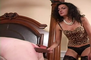 tutored by mistress in nylons