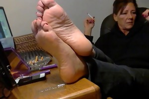 adorable older feet.