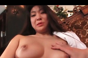breasty japanese mother i fur pie drilled with