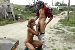 farmers wife getting drilled