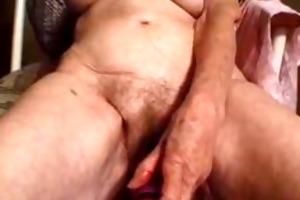 granny enjoying having interracial sex darksome