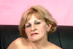 obscene granny acquires drilled by muscle chap