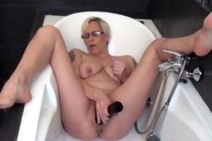 lascivious older lady fucking her own taut part2