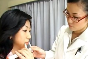 asian wife is examining mmf workers part2