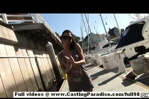 micah moore independent playgirl in bikini and