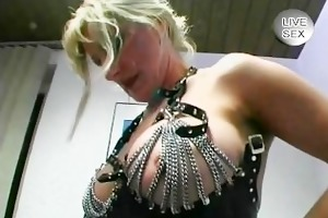 leather and piercings