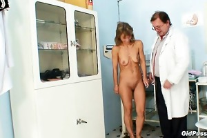 aged vladimira acquires her wet crack properly