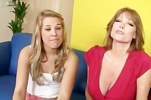 kimberly and her mamma fuck a giant chubby weenie