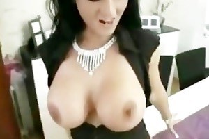 hot german doxy with big fake boobs bonks her