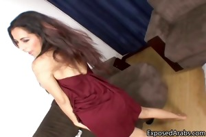 hot arab angel receives sexually excited and